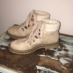 Dirty laundry casbah lace up hiker boots